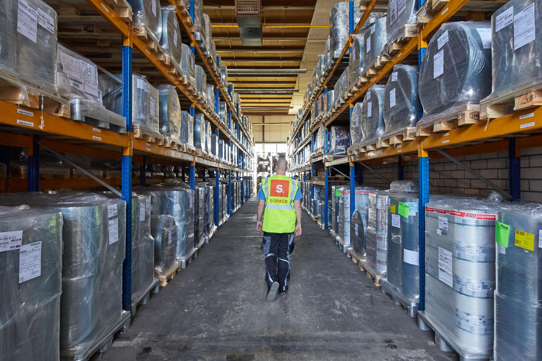 Sopack-Logistik-Lager